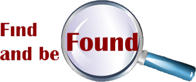 Find and be Found logo Left